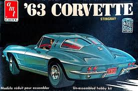 corvette stingray split window amt 1963 corvette stingray model kit