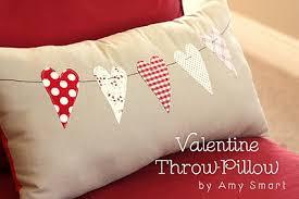 cucire un cuscino cuscino con cuori tutorial