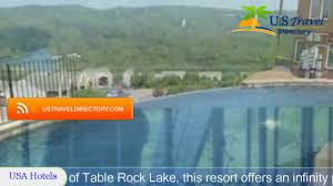 resorts in branson mo on table rock lake cliffs resort table rock lake branson hotels missouri youtube