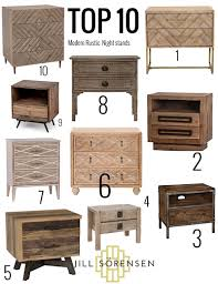 my top 10 modern rustic nightstands jill sorensen lifestyle