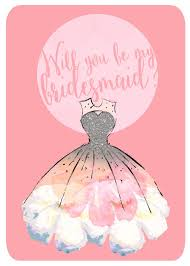 will you be my bridesmaid invite will you be my bridesmaid invitation by she fox invitations