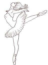 best ballerina coloring pages free downloads f 1545 unknown