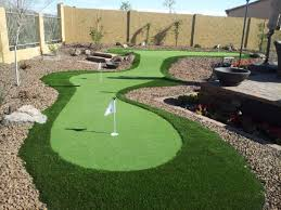 backyard putting green price backyard and yard design for village