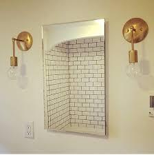 Mid Century Modern Wall Sconce Gold U0026 Brass Industrial Modern Minimalist Mid Century Wall Hanging