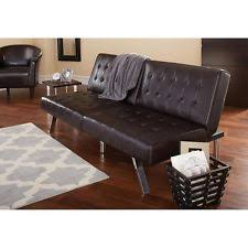 Mainstays Sofa Bed Mainstays Faux Leather Futon Roselawnlutheran