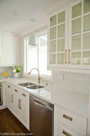 How To Clean Kitchen Cabinets Before Painting by Granite Countertop Kitchen Cabinets Painted Before And After Sea