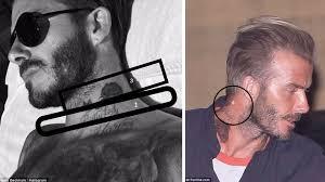 proper decoding of david beckham s tattoos on his 42nd birthday