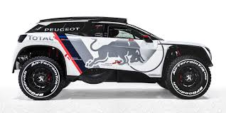 peugeot jeep 2016 2017 peugeot 3008 dkr twin turbo rear drive suv revealed for