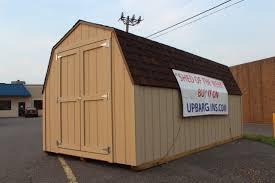 Gambrel Barn by Premium 8 U0027x16 U2032 Gambrel Storage Shed With A Great Price Premium