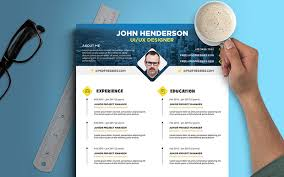 creative resume psd file cover letter creative resumes templates