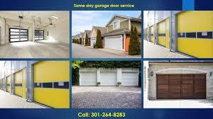 Garage Overhead Door Repair by Garage Door Repair Rockville Md 301 264 8283 Overhead Door Repairs