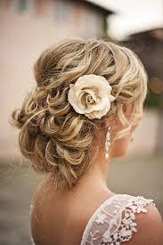 Hochsteckfrisurenen Lockige Haare by Einfache Hochzeit Frisuren Hochzeits Hochsteckfrisur Frisur