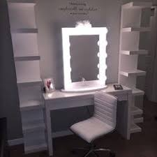 hair and makeup station 23 diy makeup room ideas organizer storage and decorating
