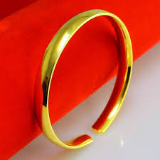 simple gold bracelet price images For a long time does not fade like a gold bracelet and 999 gold jpg