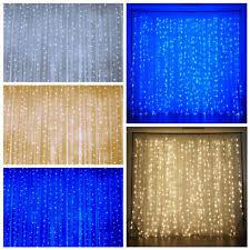 Led Light Curtains Organza Light Curtain Ebay