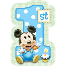 1st birthday disney mickey s 1st birthday invitations birthdayexpress