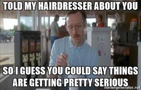 Hairdresser Meme - hairstylist themes home facebook
