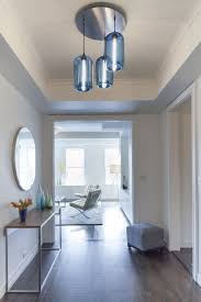 Modern Pendant Lighting Entryway Pendant Lighting Paves The Way In This New York City Home