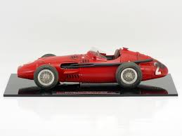 cmc maserati 250f fangio dirty hero gp france 1957 1 18