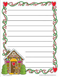 lined paper for writing gingerbread printable border paper with and without lines a to z related printables