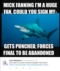 Shark Attack Meme - mick fanning shark attack meme round up after the punch comes the