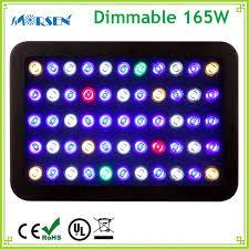 30 led aquarium light 1pcs dimmable full spectrum 165w led aquarium light fish tank coral