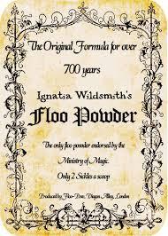 floo powder label sign hp pinterest harry potter harry