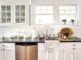 vinyl kitchen backsplash wonderful gallery kitchen glass white subway tile backsplash ideas