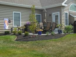 Patio Around Tree Landscape Design Manheim Pa Keystone Lawn Company