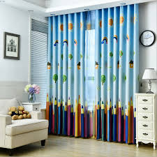 Byetee New Curtains Blackout Curtain Fabric Pencil Pattern Boys - Blackout curtains for kids rooms