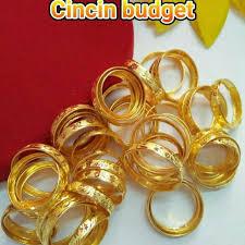 harga cincin jewelry cincin emas belah rotan harga bajet offer women s fashion