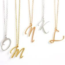 Single Initial Monogram Necklace 122 Best Personalized Jewelry Images On Pinterest Gift Packaging