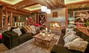 Deco Montagne Chalet Decoration Chalet Villa Interieur Et Amenagement Plus Haut Design