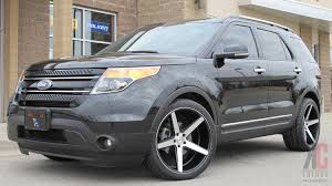 Ford Explorer Rims - kc trends showcase 22x10 5 kmc district deep concave wheels