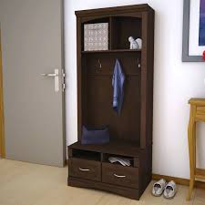 Mudroom Storage Bench How To Build An Entry Bench With Cubbies And Hooks Image Of