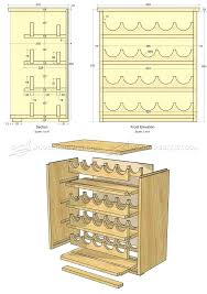 Free Woodworking Furniture Plans Pdf by Wine Rack Plans U2013 Abce Us