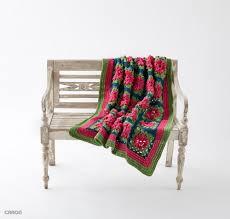 Crochet For Home Decor by Petal Pops Blanket Allfreecrochet Com