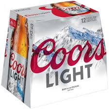 is coors light a rice beer coors light beer 12 pack 12oz bottles 4 2 abv