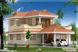 4 bedroom kerala model villa elevation design kerala home design