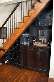 resultado de imagen para bar under stairs casa pinterest