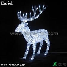 white led light reindeer for garden decoration buy christmas
