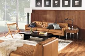 room and board leather sofa wells leather sofa room by r b modern living room minneapolis