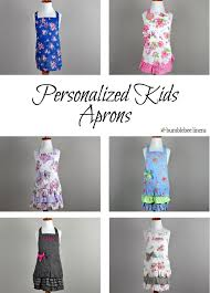 personalized monogrammed aprons aprons