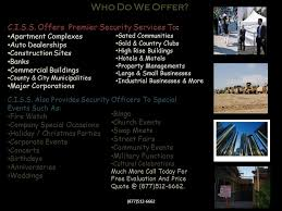 command international security services ppt