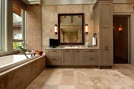 distressed bathroom cabinets bathroom rustic with panel doors