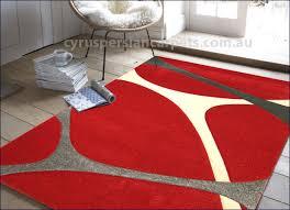 como modern abstract rug u003cbr u003e 3482 red modern como red abstract