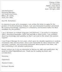 Resume And Cover Letter Samples by Business Cover Letter Examples Cover Letter Now