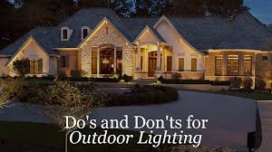 Residential Landscape Lighting Do S And Don Ts For Outdoor Lighting Outdoor Lighting Perspectives