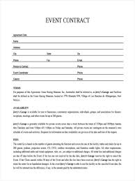 Child Support Contract Template Event Contract Sample Resume Cv Cover Letter
