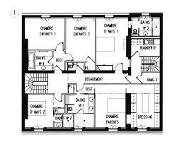 Plan De Maison En Longueur Plan De Maison D Architecte Contemporaine